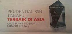 PruBSN terbaik di Asia 2012