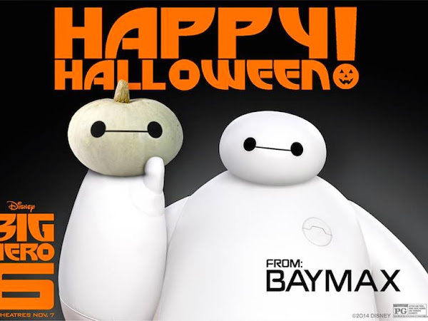 Make a Baymax Pumpkin for Halloween! #BigHero6