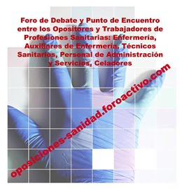 FORO DE OPOSICIONES SANIDAD