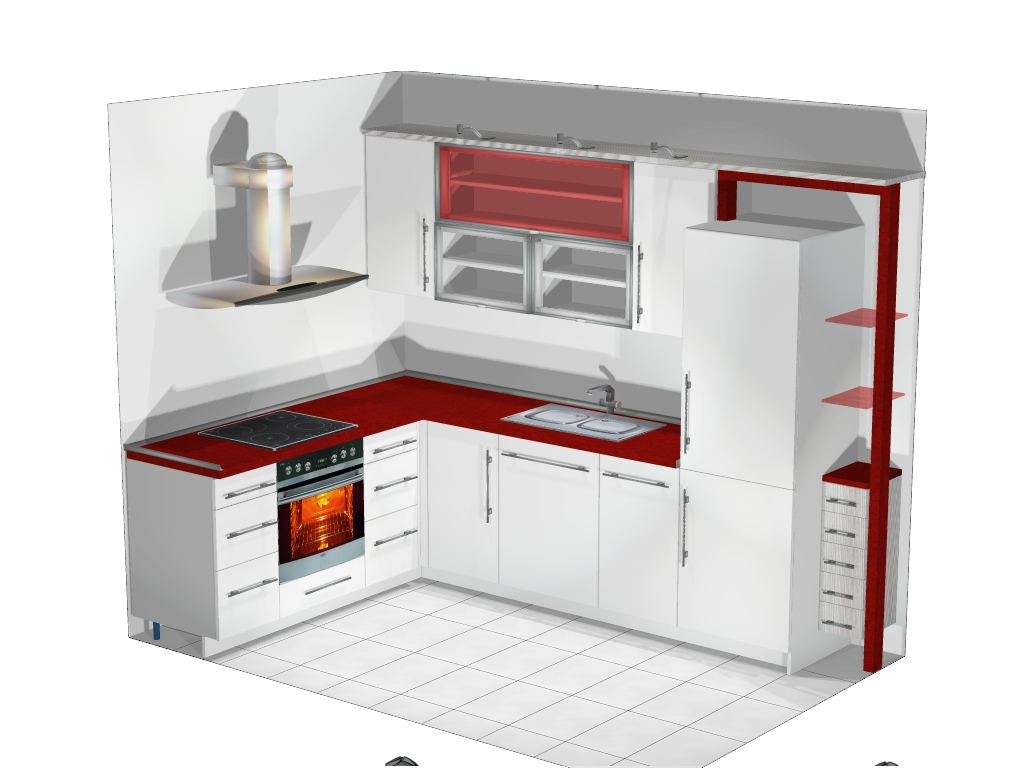 Small L Shaped Kitchen Design Ideas ~ L shaped kitchen