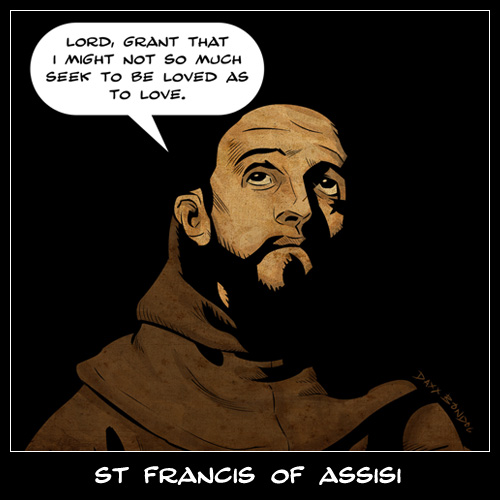 Catholic St. Francis of Assisi Quotes