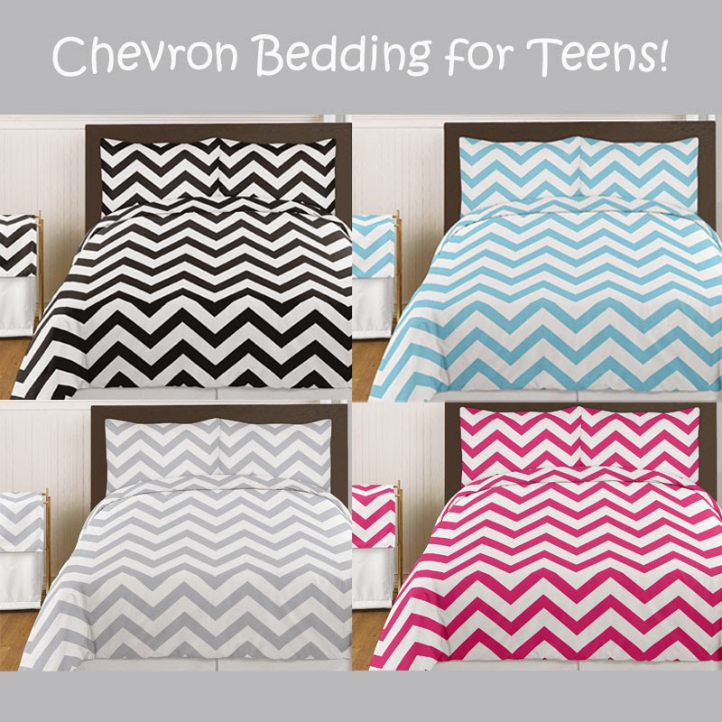 Chevron Bedding for Teens