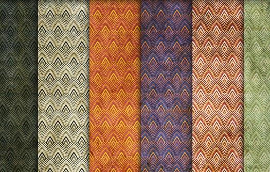 coleccion de diseño textura vintage