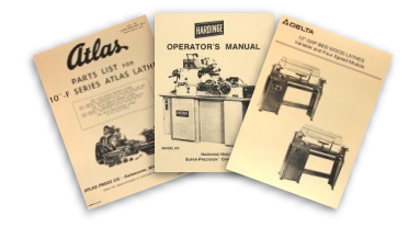 Wood Metal Lathe Manuals