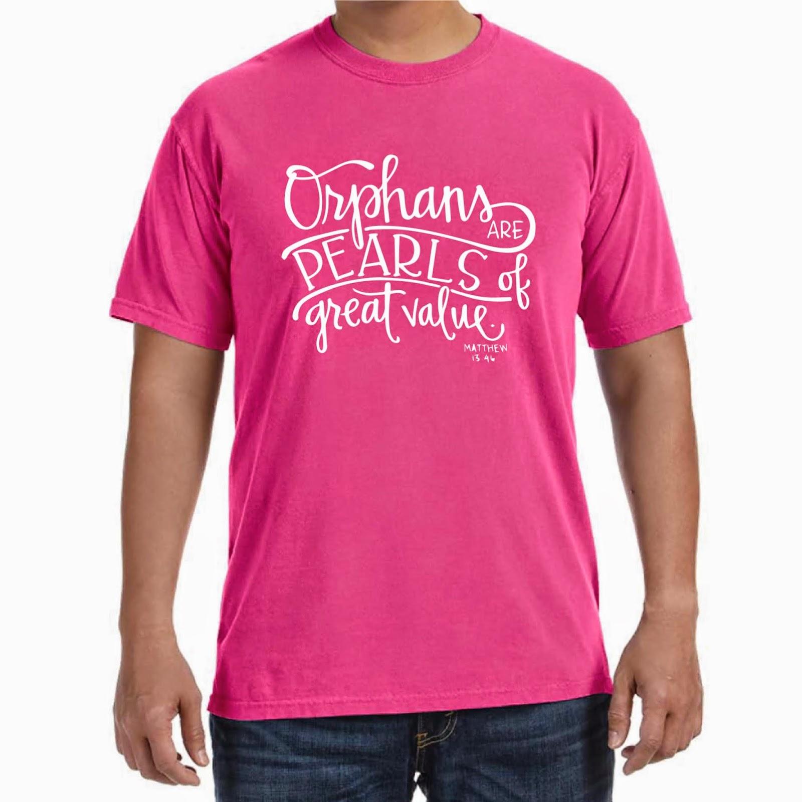 Adoption shirts fundraiser