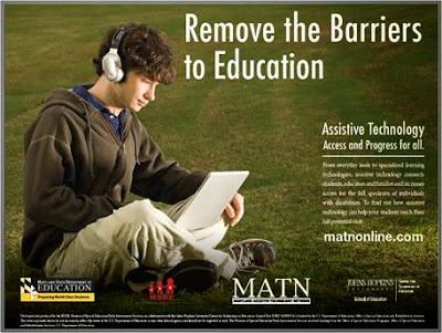 photo says remove barriers from education
