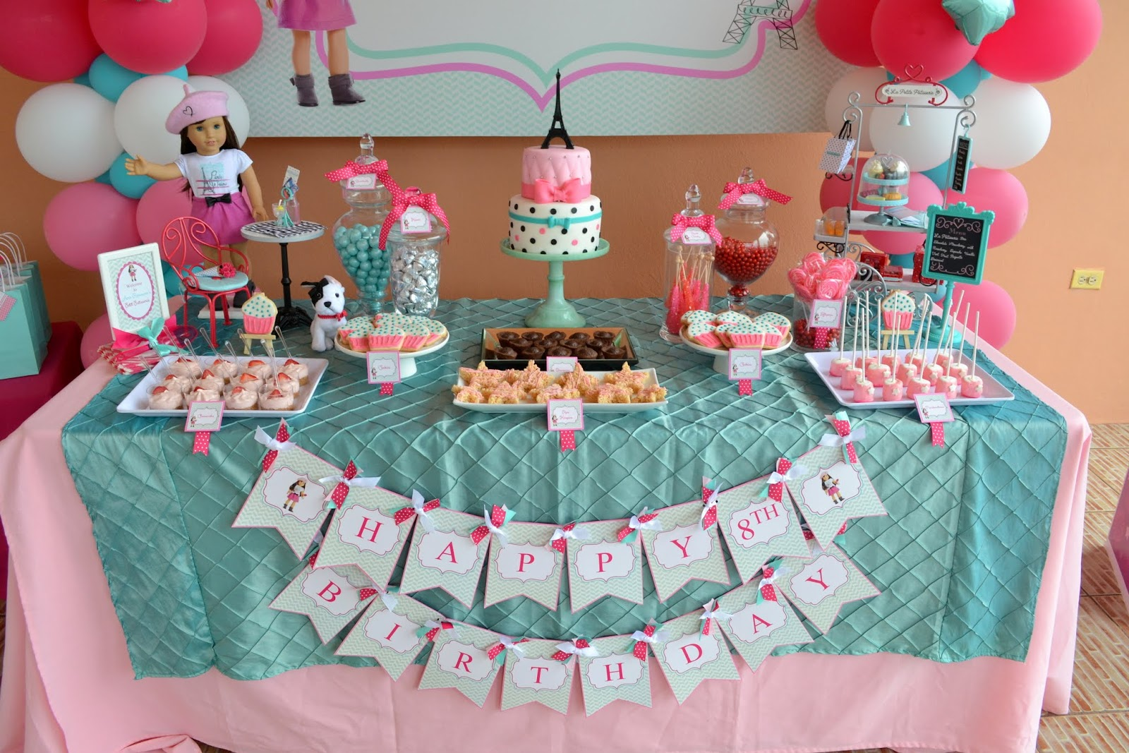 Partylicious Events Pr American Girl Cupcake Party