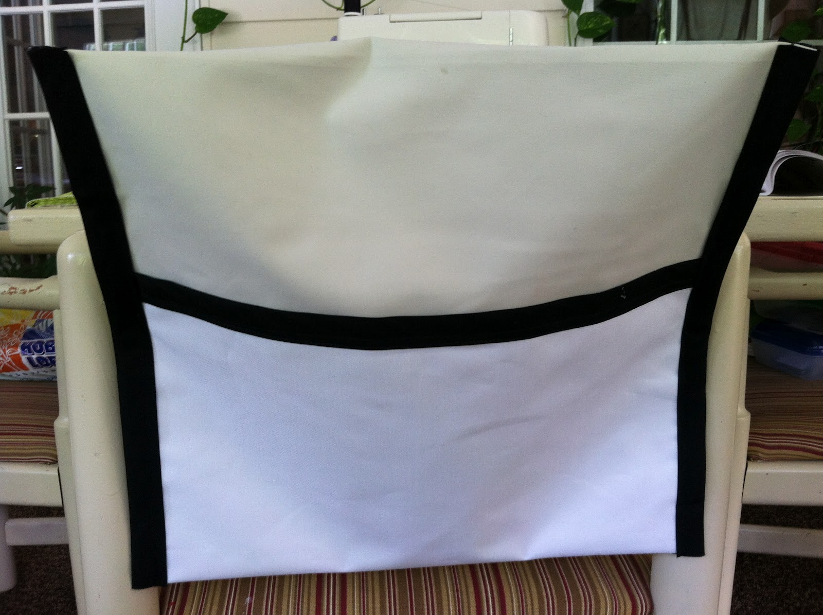 DIY Chair Pockets Think Share Teach