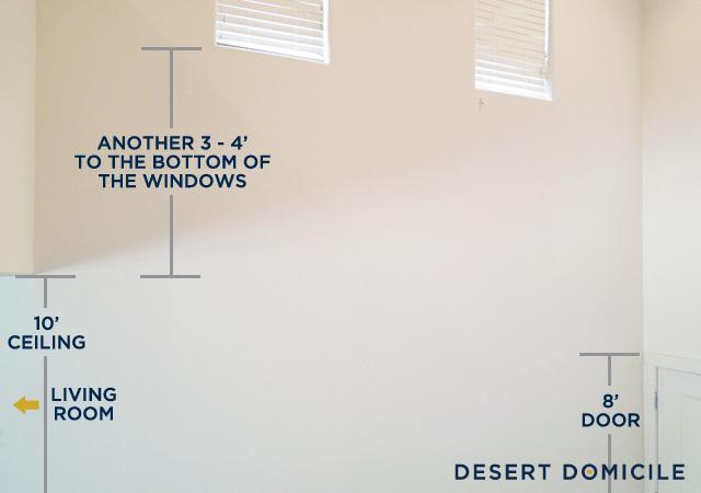 Foyer Mirror Height : What the foyer desert domicile
