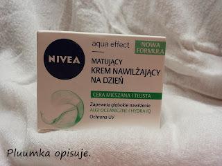Nivea - aqua effect - matujący krem nawilżający na dzień