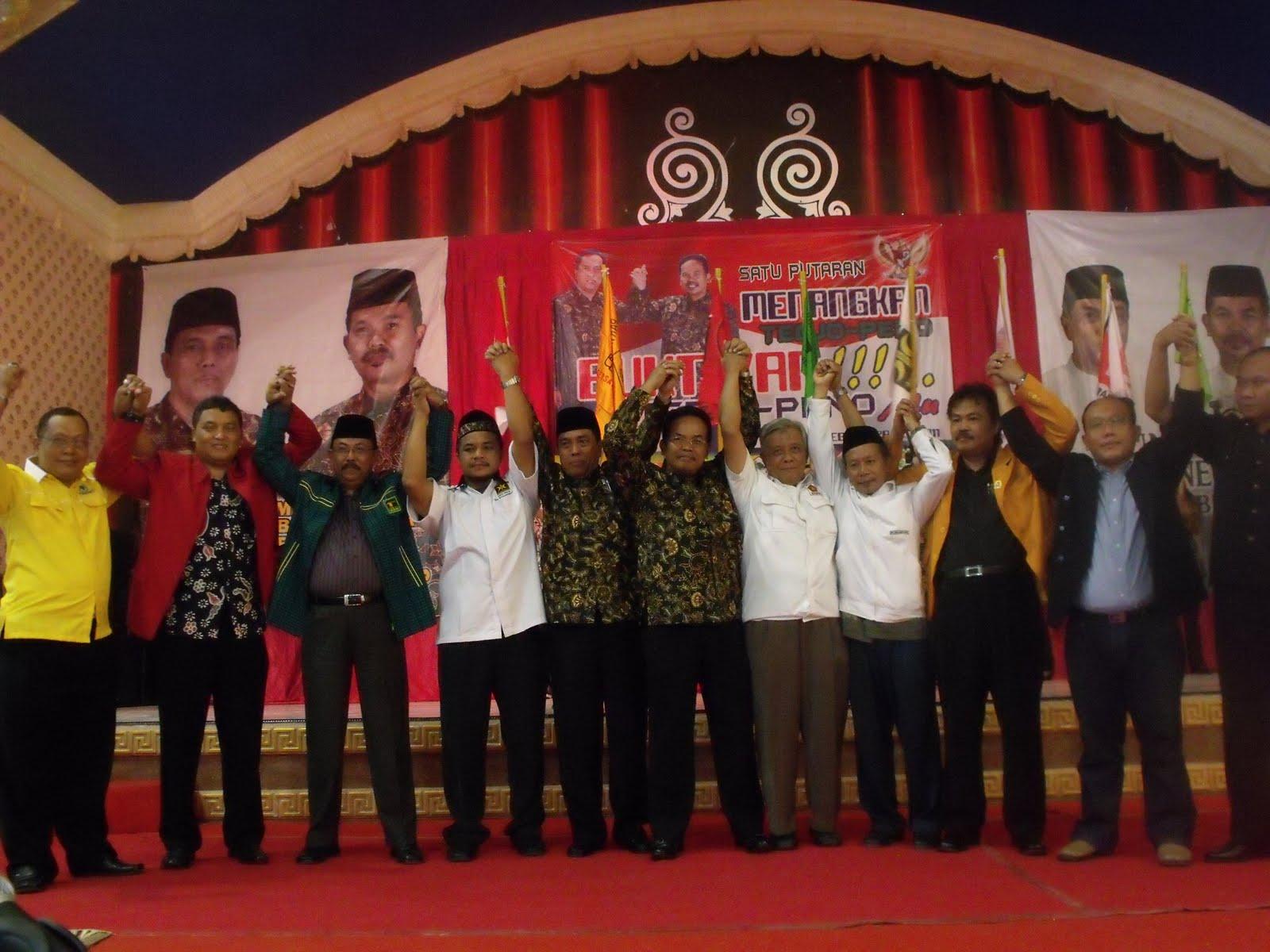 PDI Perjuangan, PPP, PKS,