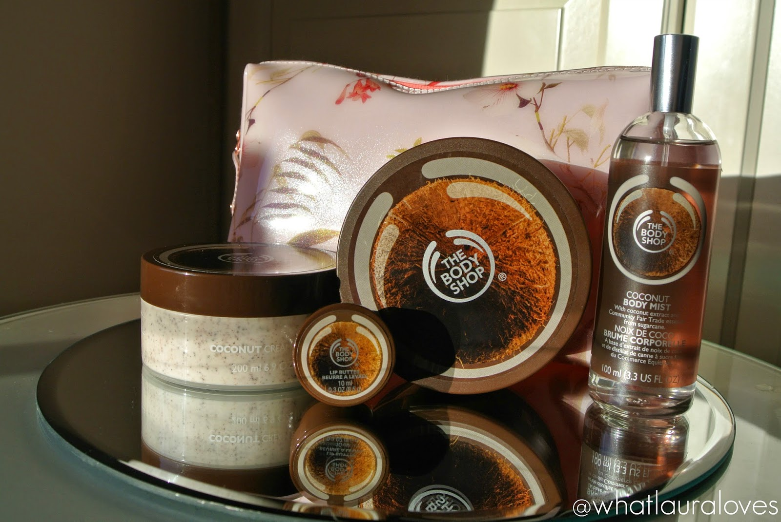 The Body Shop Coconut Range Gift Set
