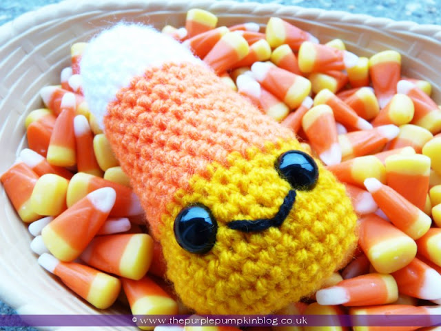 Amigurumi Crochet Candy Corn | The Purple Pumpkin Blog
