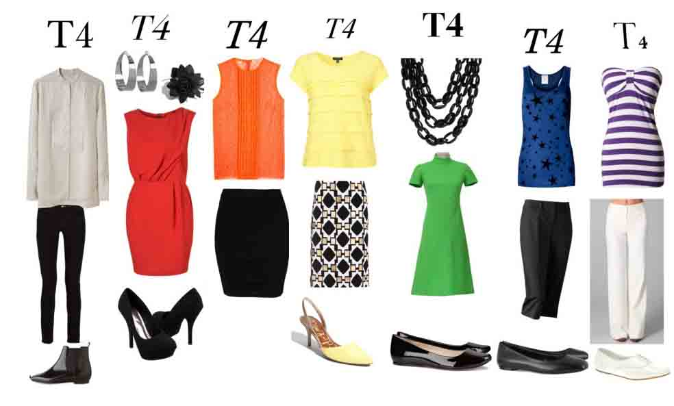 Dressing Your Truth Type 4 Colors