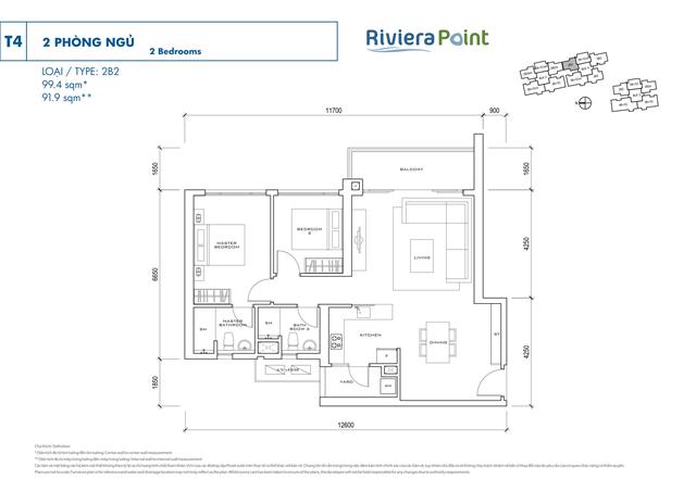 Căn hộ Riviera Point quận 7, Căn hộ Riviera Point, Căn hộ cao cấp Riviera Point