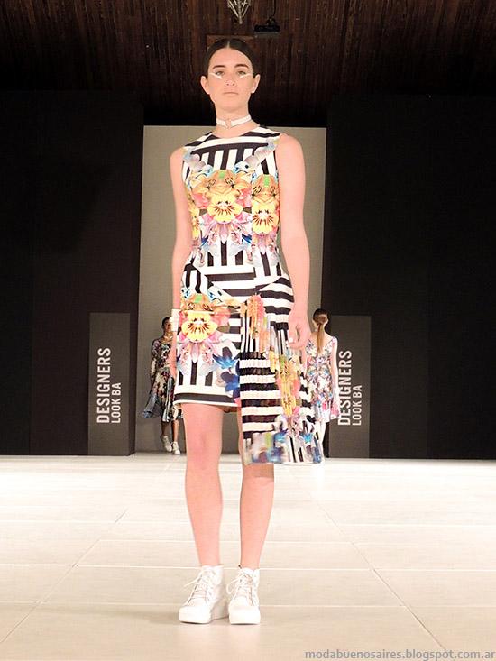 Dot by Laurencio Adot primavera verano 2015 vestidos cortos 2015.