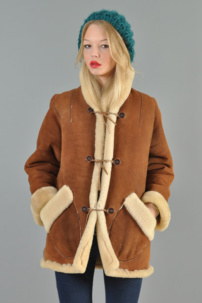 Wardrobot™: 1970's Shearling Coat