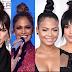 Battle of the hair buns-Kendall ,JLo,Christina Milan,Karrueche