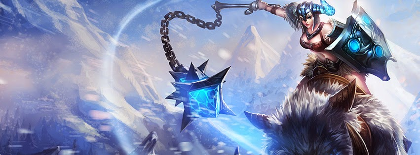 Sejuani League of Legends Facebook Cover PHotos
