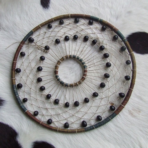 Sorazora blog making a dreamcatcher for How to make a double ring dreamcatcher