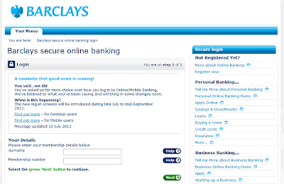 Barclay credit card login uk