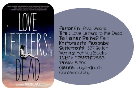http://www.amazon.de/Love-Letters-Dead-Ava-Dellaira/dp/1471402886/ref=sr_1_1?ie=UTF8&qid=1405755330&sr=8-1&keywords=love+letters+to+the+dead