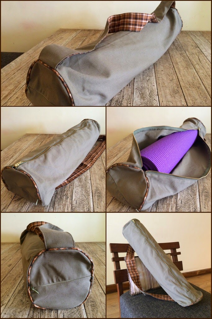 Yoga Bags by ColorAndCloth Etsy Store
