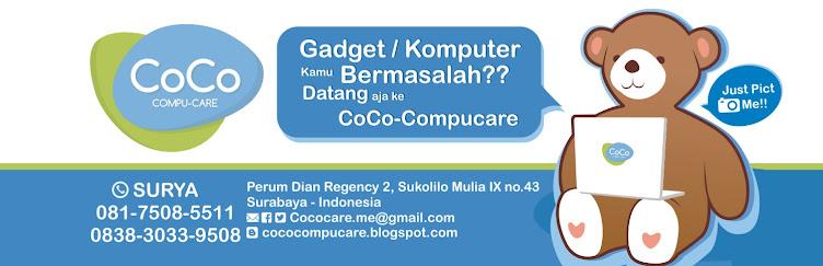 Coco Compucare - Konsultasi & Servis Komputer Surabaya