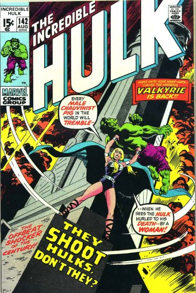 incredible Hulk #142, the Valkyrie