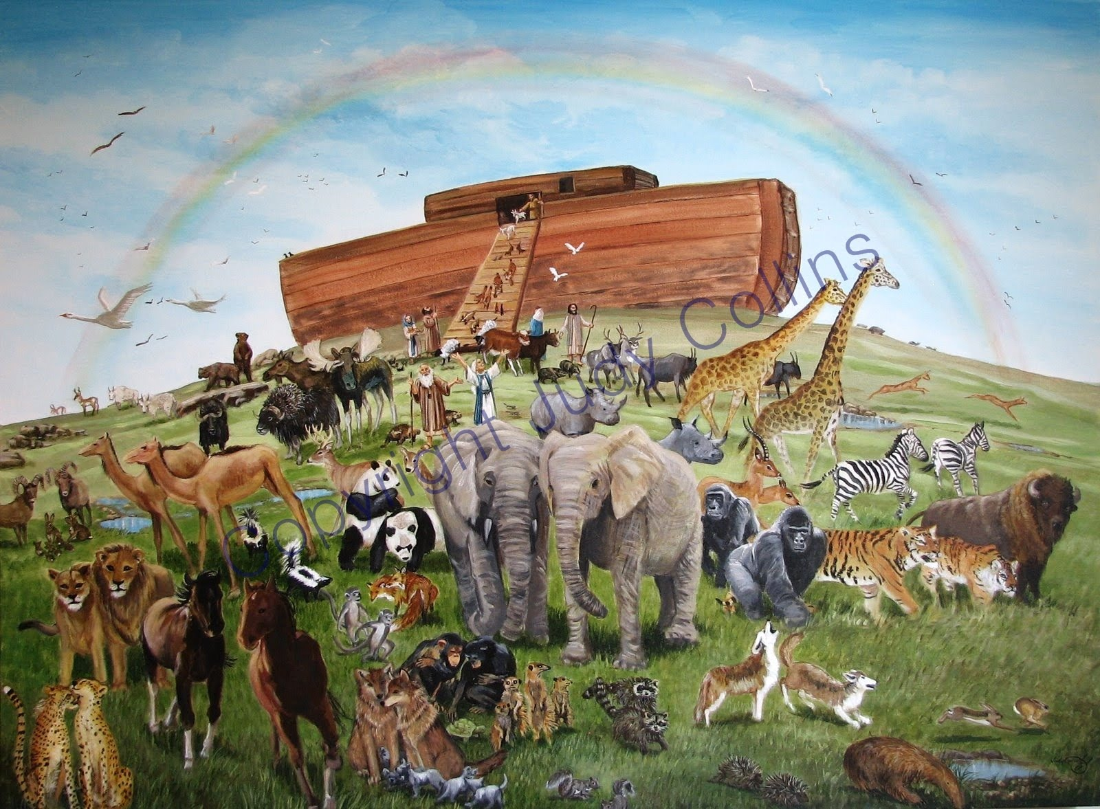 To Hell - and back: Noah's ark - and other fairy tales