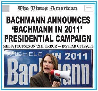 Bachmann announces 2011 presidential campaign