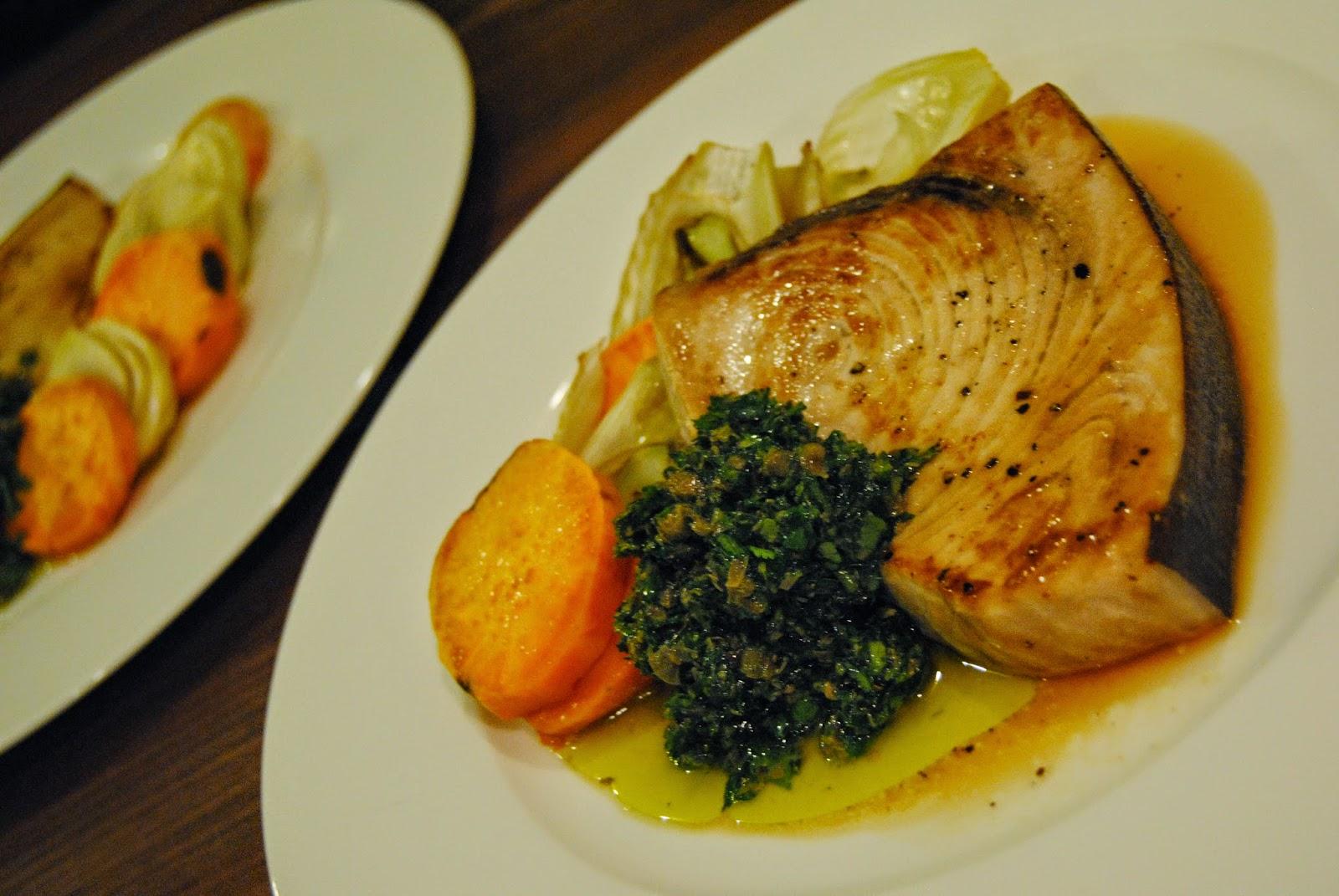 Rezept Schwertfisch mit Salsa Verde