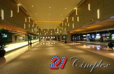 Jadwal Bioskop 21 TangCity Tangerang