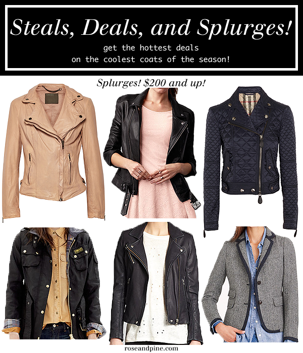 jackets coats outerwear cheap budget worth the splurge fashion style winter fall trends