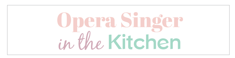 An Opera Singer in the Kitchen