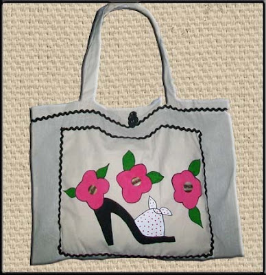 Ecobag fashion shoe