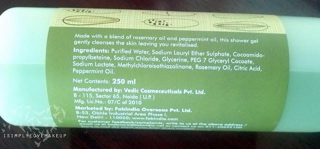 Fabindia Mint Rosemary Body Wash Review