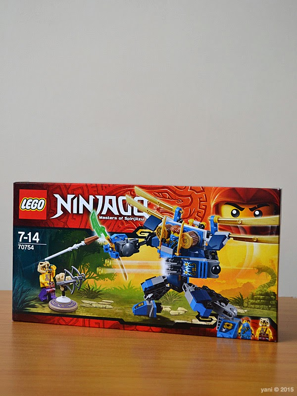 lego ninjago electromech - the box