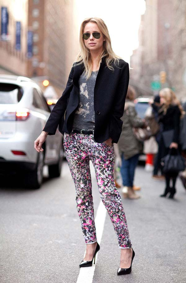 Trendsfor 2014 Fall 2012 Street Style Report