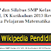 RPP dan Silabus SMP Kelas VII, VIII, IX Kurikulum 2013 Revisi Matematika