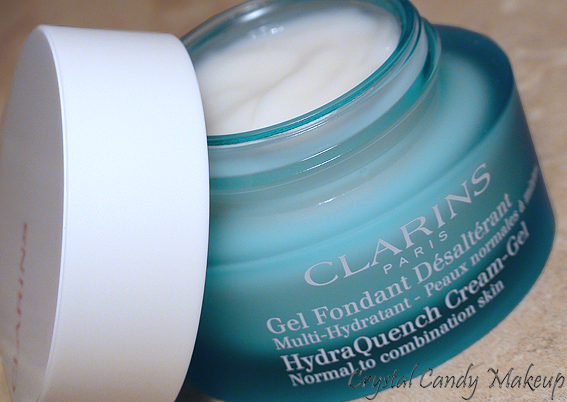 Gel Fondant Désaltérant Multi-Hydratant de Clarins - HydraQuench Cream-Gel - Review