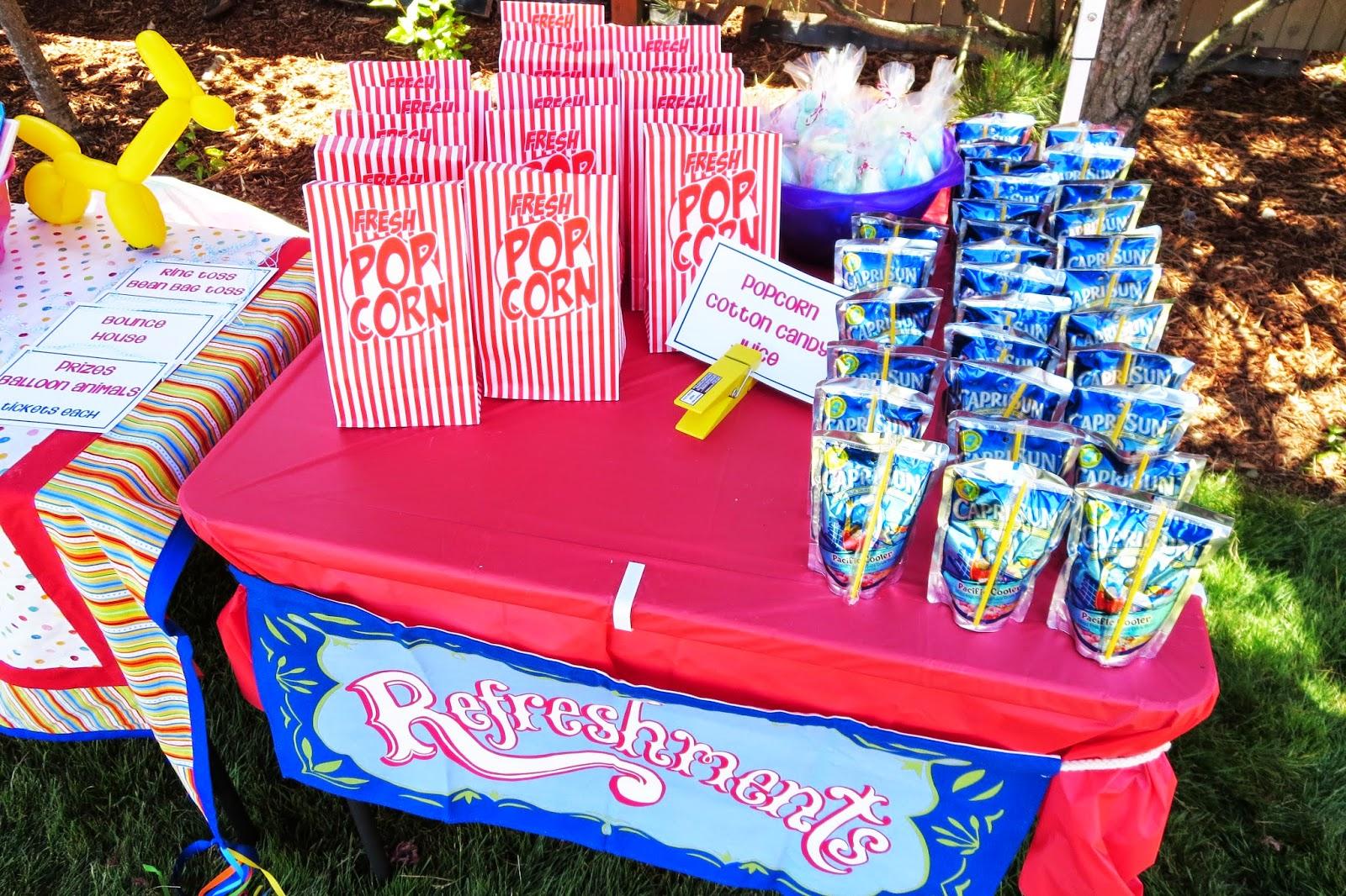 Attrayant DIY Backyard CARNIVAL Party {Emilyu0027s 8th Birthday}