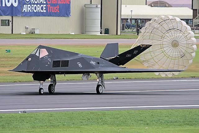 F-117 Nighthawk drag-chute