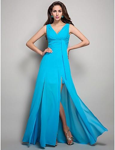 vestidos de fiesta con escote | Colección