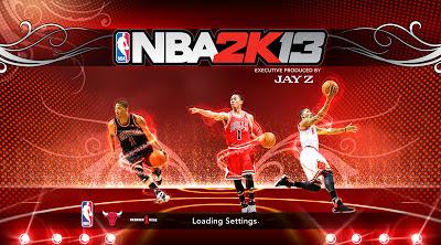 NBA 2K13 Derrick Rose Startup Screen Mod