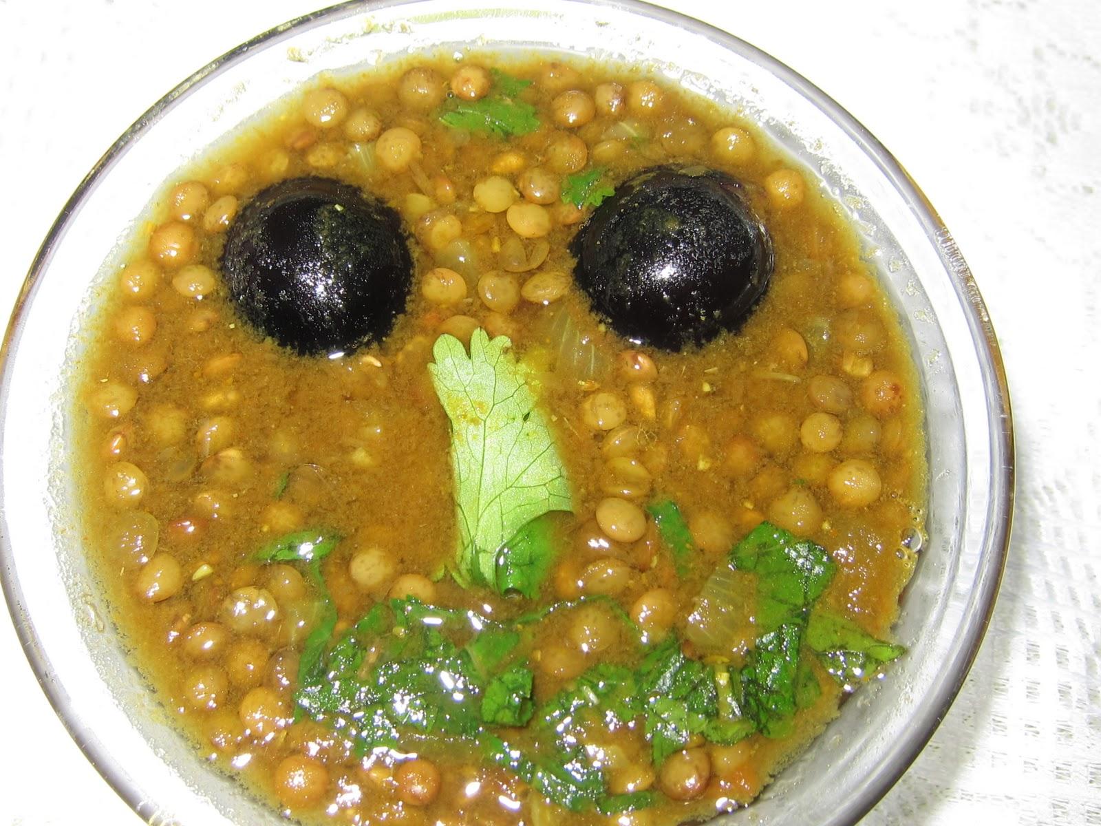 Lentilles vertes de puy au curry et aux raisins art de - Cuisiner les lentilles vertes ...