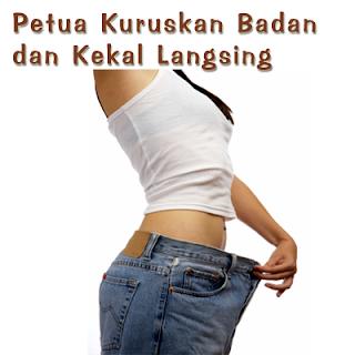 Tip kuruskan badan tanpa ubat
