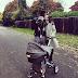 CELEBRITY LIFE: Mikel Obi & Babymama Take Their Twins on a Stroll!