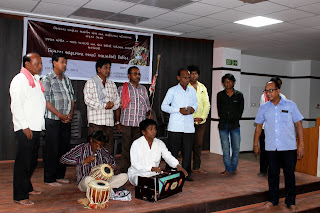 Workshop on Training of Bhavai Artists at VSSM