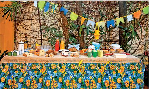 de decora??o de mesa para Festa Junina # decoracao festa junina ...